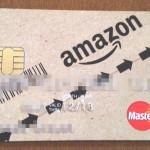 年金生活でも本審査に通った!Amazonカードが届きましたよ。思った以上に段ボールデザイン。