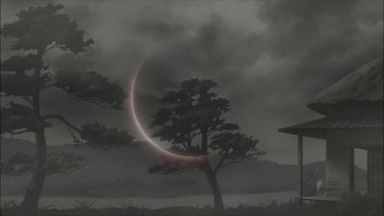 第19話 「天辺の糸」 吹(フキ:見えなくなってしまった女中)と清史郎