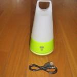 緊急時用の懐中電灯としても使えるLEDランタン「三角 スタンドランプ」を購入