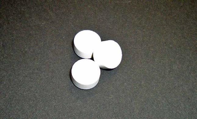 ライオン 歯科用オーラル ヘルス タブレット 1回の使用は3粒