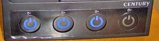 裸族のカプセルホテルで使っていないHDDは電源を切っておくことも出来る