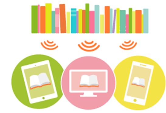 BookLive!Readerはパソコンはもとよりタブレット、スマートフォンでも使える