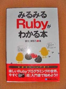 みるみるRubyがわかる本―初歩からウェブまで