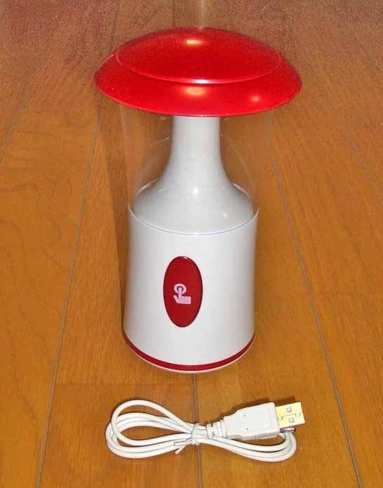 USB充電式のポータブルLEDランタンCW8736