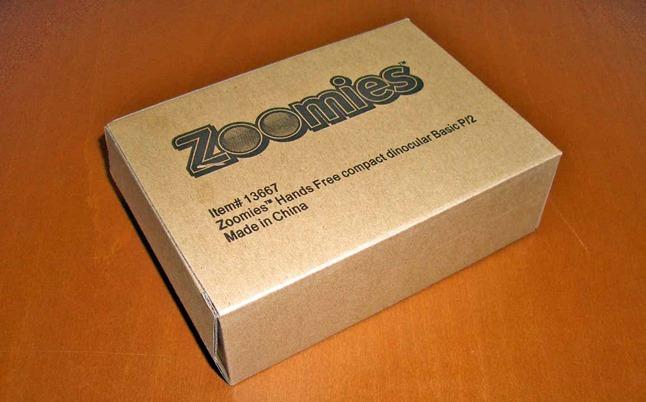 Zoomies 双眼鏡 眼鏡型タイプ