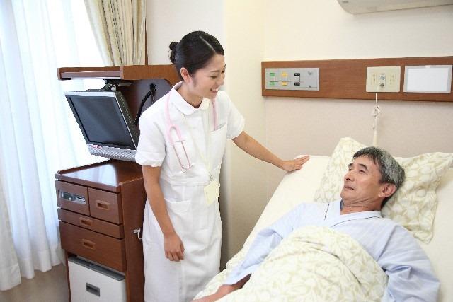 病室でのイメージ