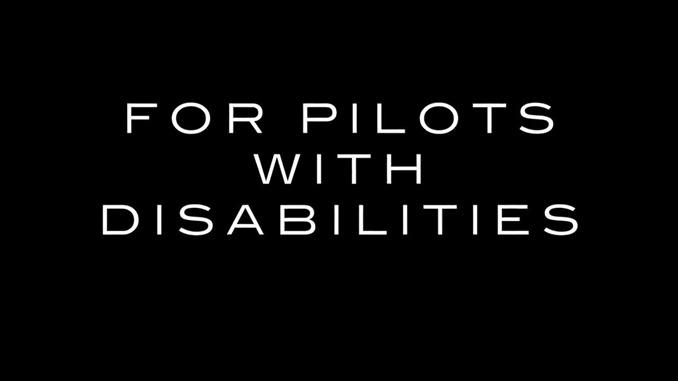 障害を持つパイロットたちが