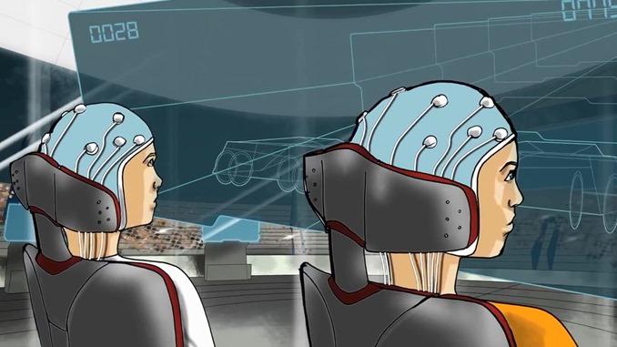 脳波コントロールレース