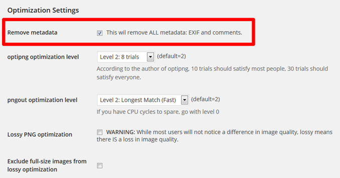 This wil remove ALL metadata EXIF and comments
