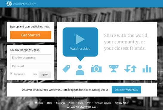 WordPress.com - Get a Free Website and Blog Here