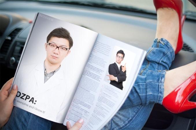 雑誌インタビュー風