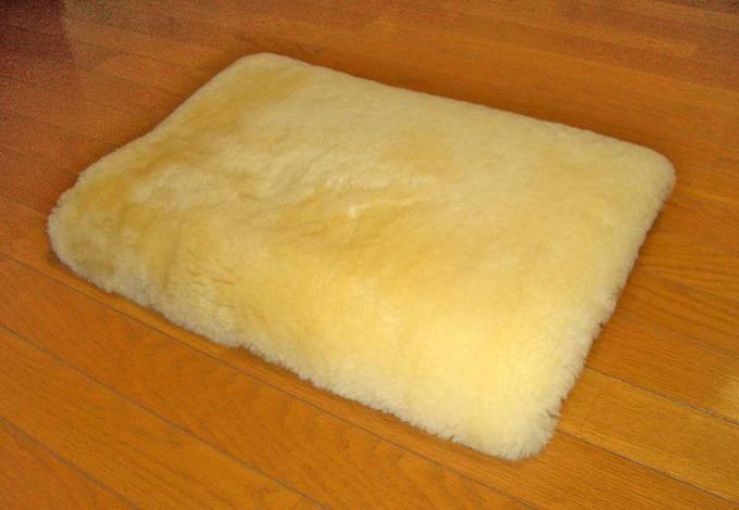 床ずれ防止用ムートン枕