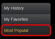 AccuRadio Most Popular
