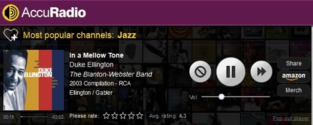 Most popular channels Free Online Radio  AccuRadio.com - Better Internet radio for your workday