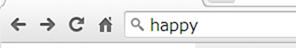 happyを検索