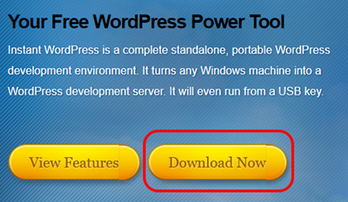 Instant WordPressのダウンロード