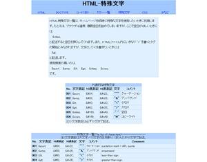 HTML-特殊文字