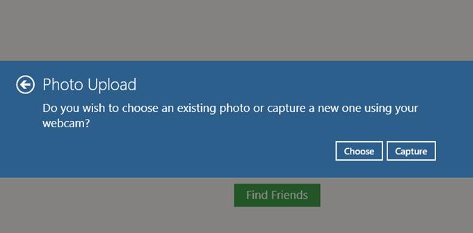 InstaPic画像のアップロード方法の選択