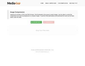 JPEG & PNG Image Compression - Media4x