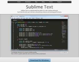 Sublime Text- The text editor you'll fall in love with