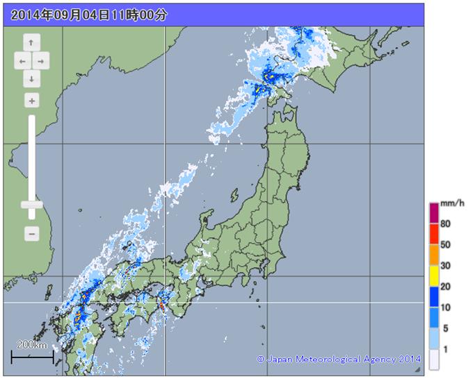 日本全体を見れる地図