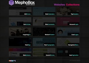 MephoBox Web Design and Web Inspiration