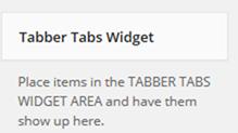 Widgets in Tabsの場所の設定