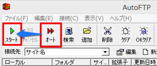 オート→スタート