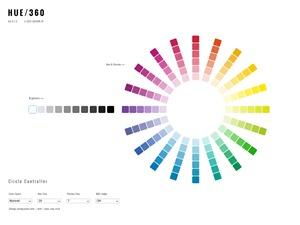 [ HUE - 360 ] The Color Scheme Application