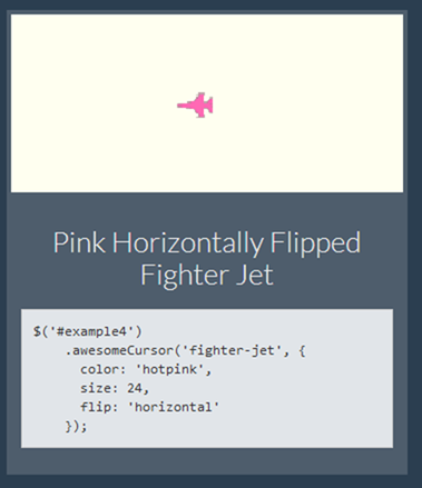 Pink Horizontally Flipped Fighter Jet
