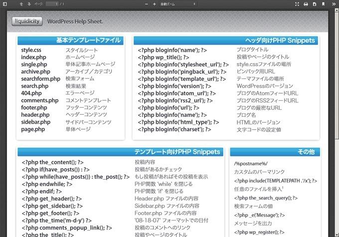 WordPress-Help-Sheet-ja - wordpress-help-sheet-ja.pdf