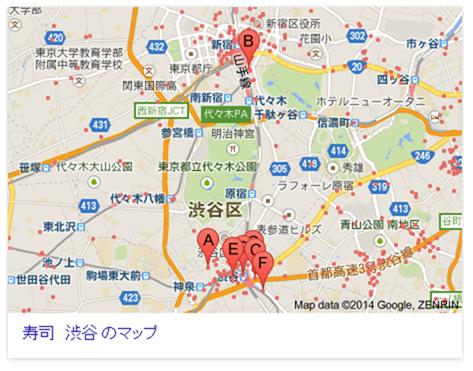 寿司 渋谷