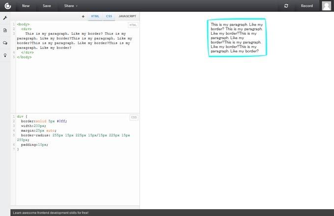 Online HTML, CSS and JS Code Editor (Sandbox) CSSDeck