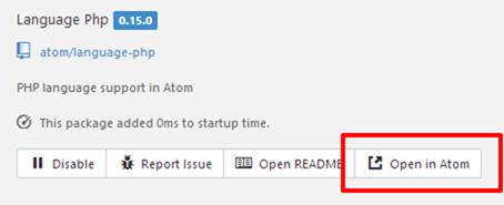 Open in Atom