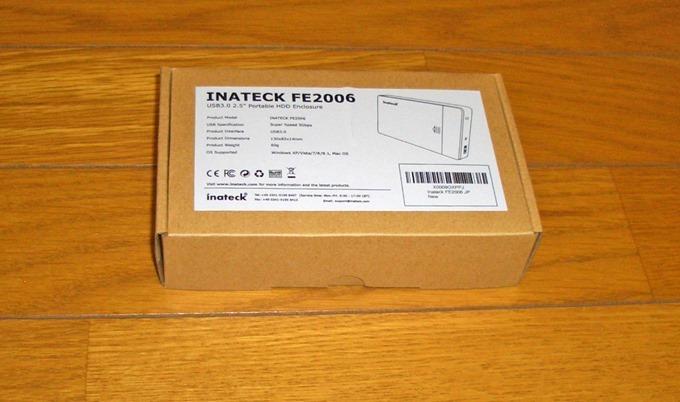 2.5インチハードディスクケースの箱