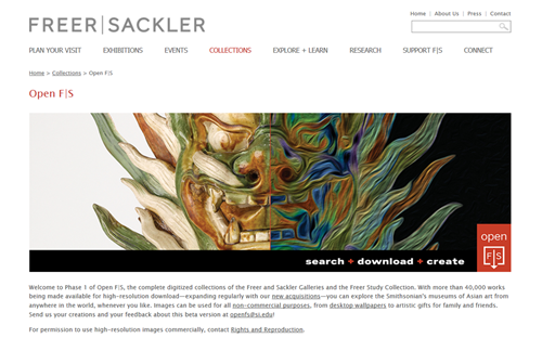Search Collections Freer and Sackler Galleries