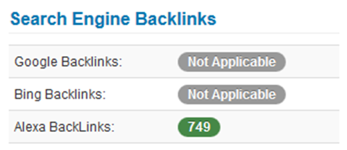 Search Engine Backlinks