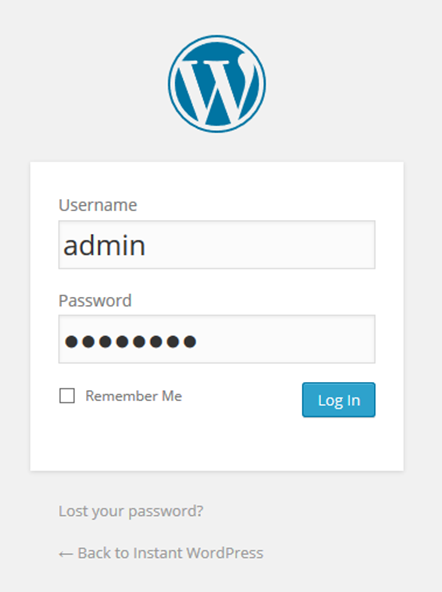 Instant WordPressで言語選択ドロップダウンリストがなくなった