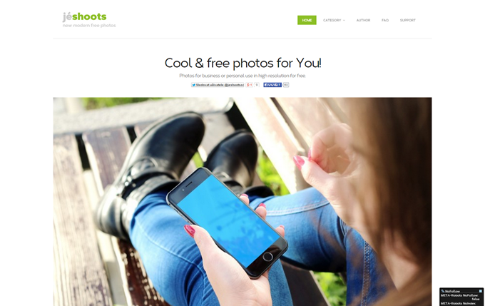 JÉSHOOTS Photos for business or personal use in high resolution for free