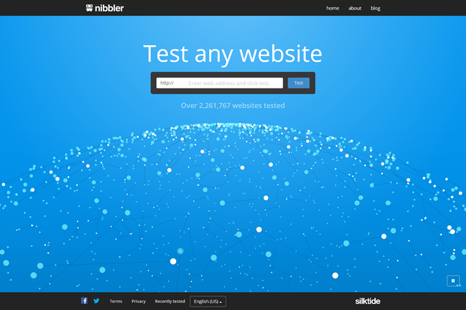 Nibbler - Test any website