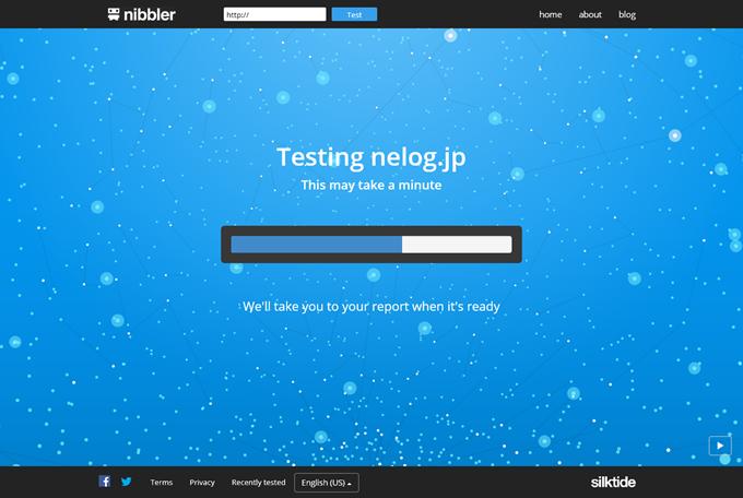 Nibbler で解析中の画面