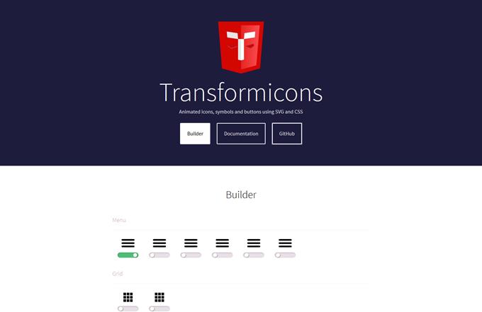 Transformicons Builder