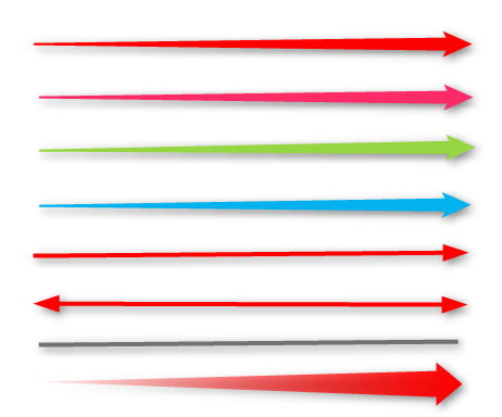 矢印の種類