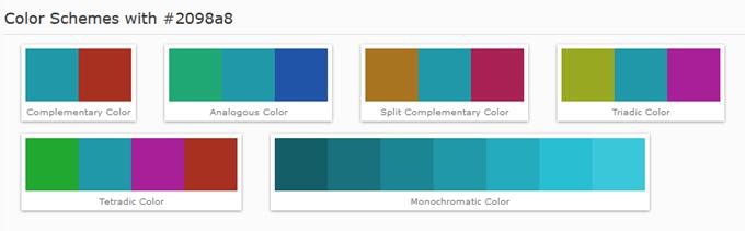 カラースキーム(Color Schemes)
