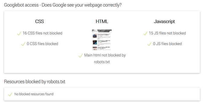 Googleのクローラーが巡回できるか