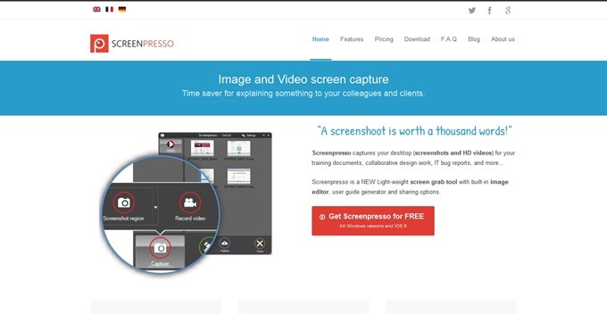 Screenpresso- The Ultimate Screen Capture Tool for Windows