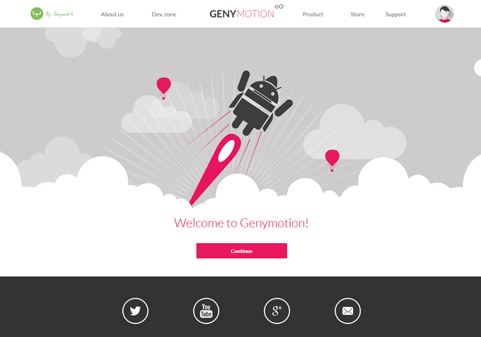 Welcome to Genymotion!