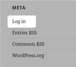 Wordpressにログインする