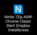 Ninite 7Zip AIMP Chrome Classic Start Dropbox Installer