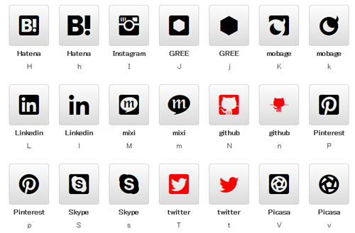 Web Icon Fonts